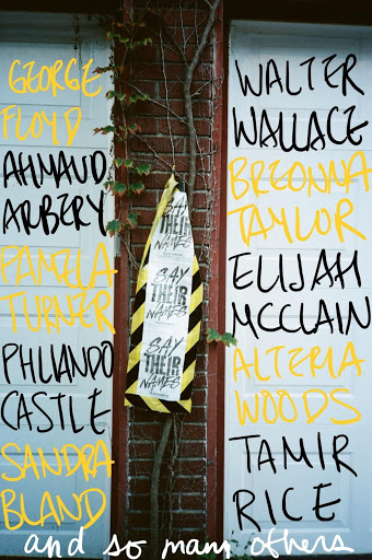 wall with names
